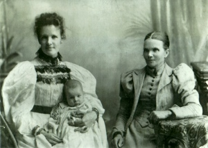 Carole's grandmother, great-grandmother, and great-great-grandmother